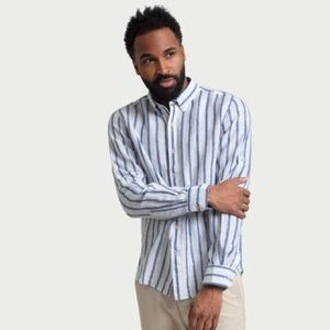 NEW Denim & Flower Linen Collection Striped